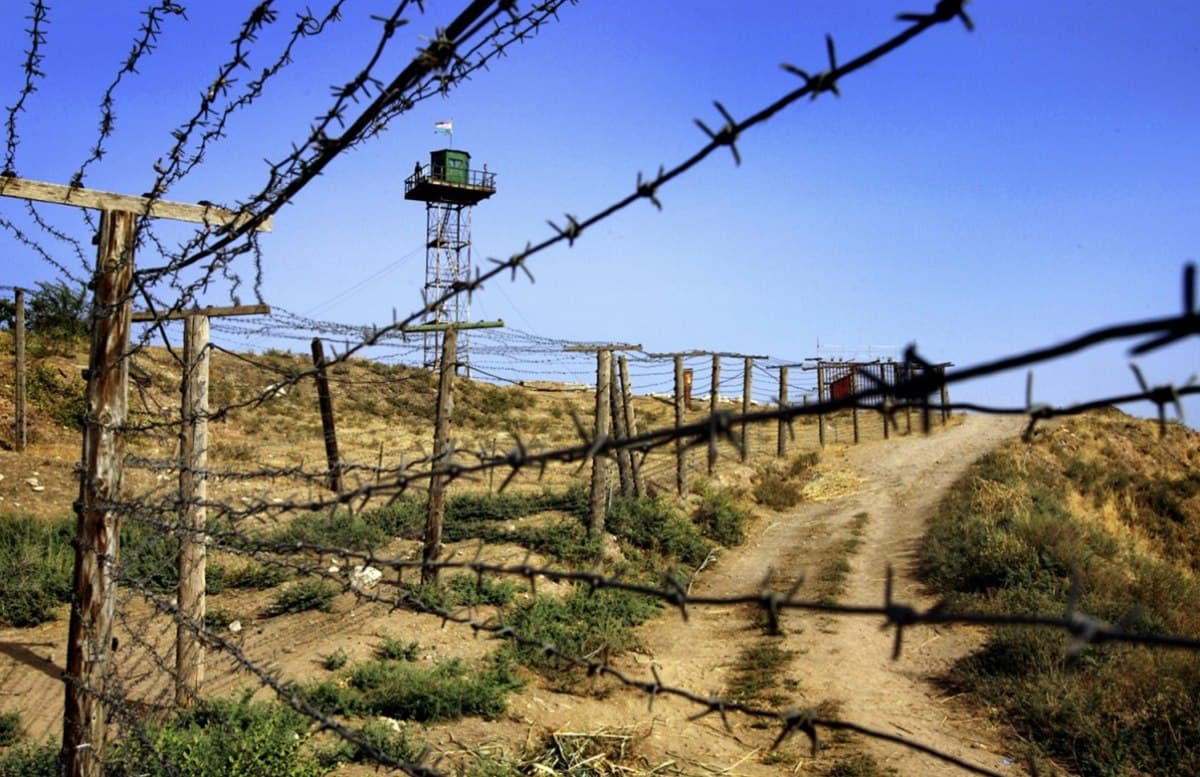 На кыргызско-таджикской границе произошло очередное столкновение