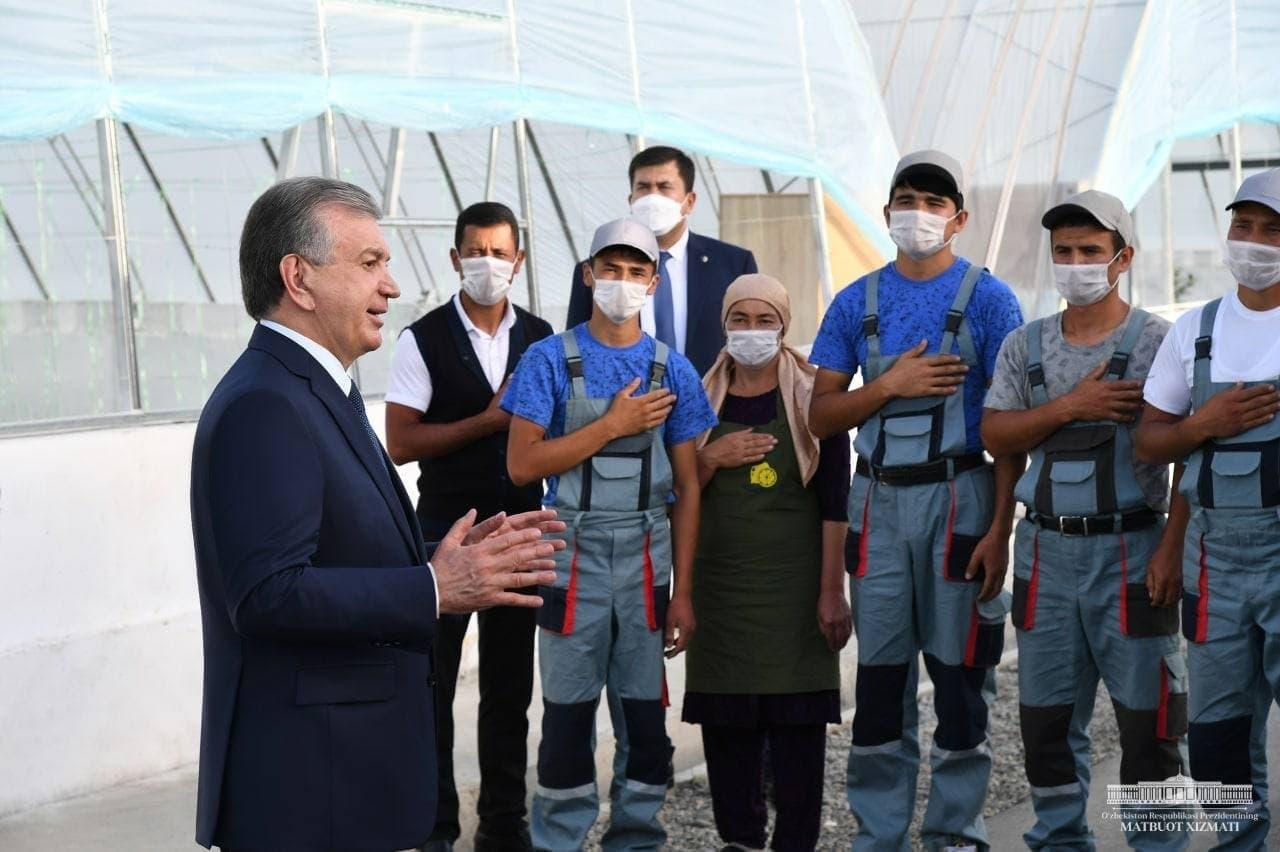 «Мы создадим в Фергане дополнительные возможности молодежи для получения образования», — президент