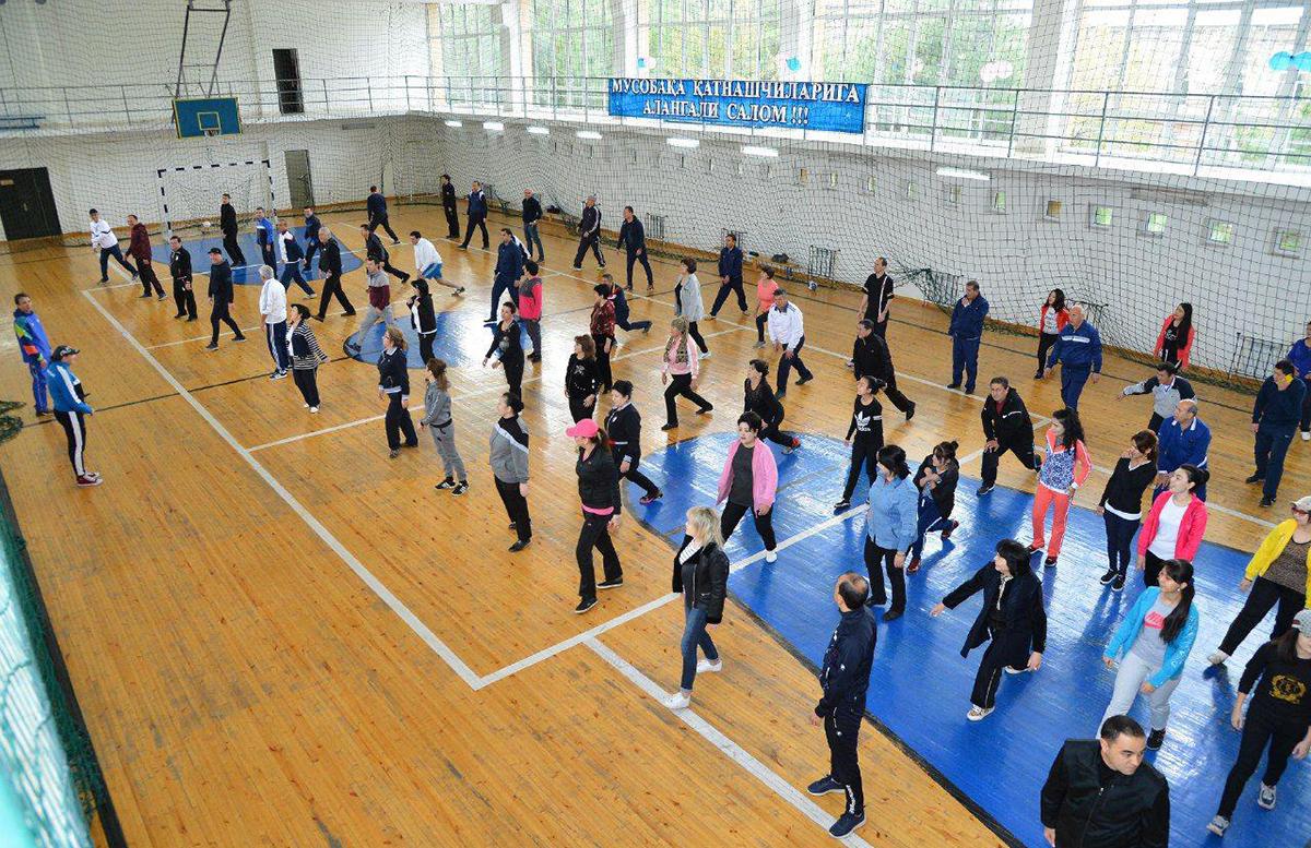 Стало известно, какой процент населения Узбекистана занимается спортом