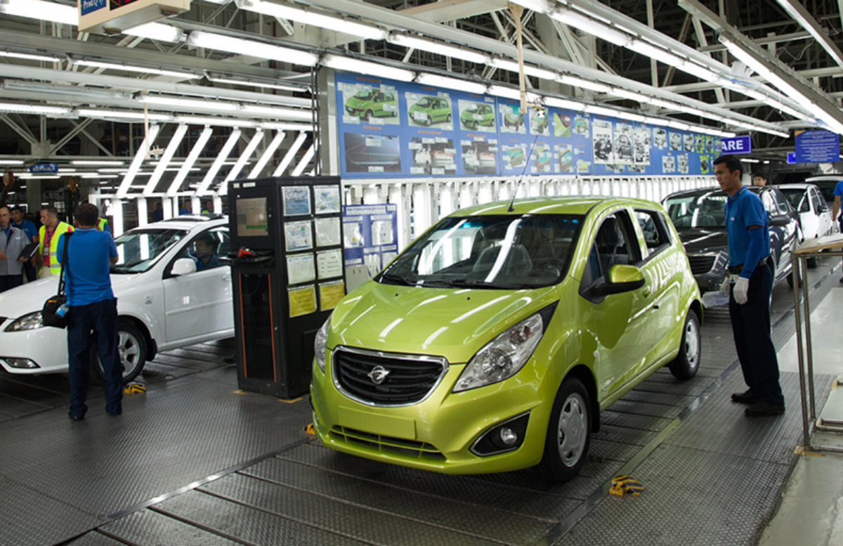 Предприятие «GM Uzbekistan» приватизируют к 2023 году