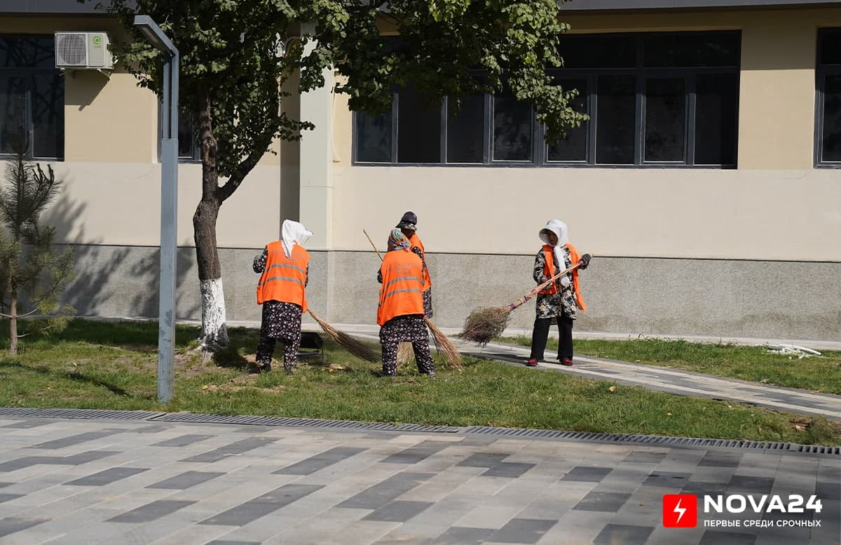 По официальным данным в Ташкенте стало меньше пыли