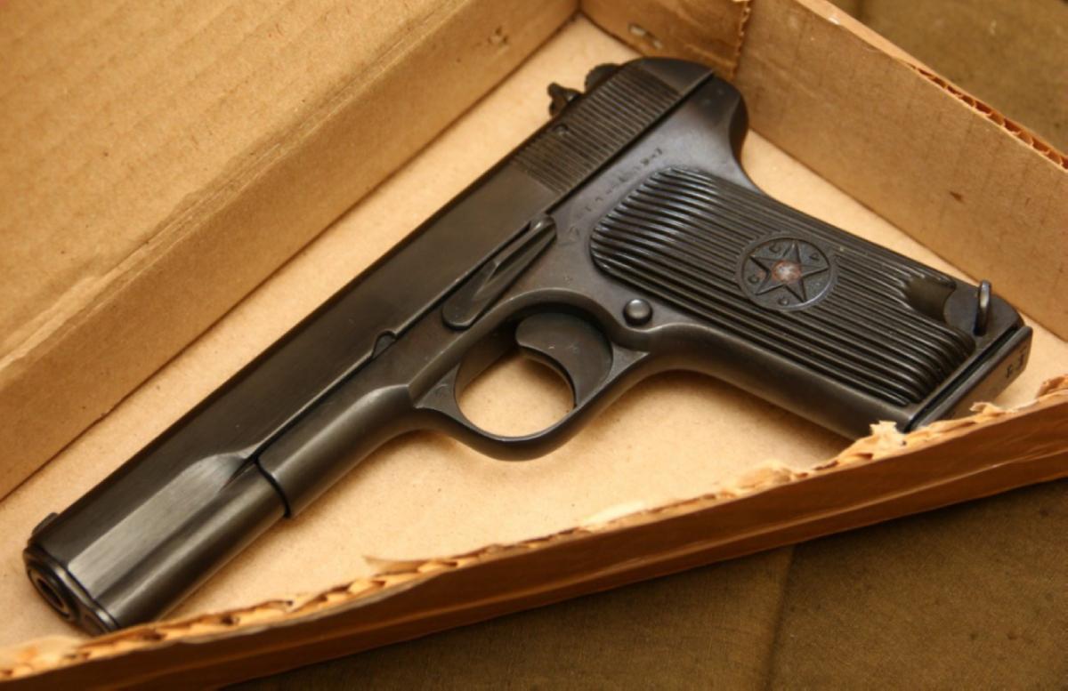 У жителя Ташобласти нашли тайник с пистолетом