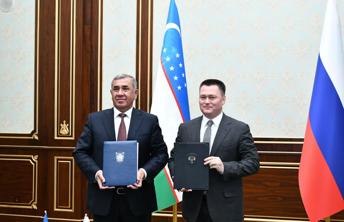 Генпрокуроры России и Узбекистана подписали программу сотрудничества до 2023 года
