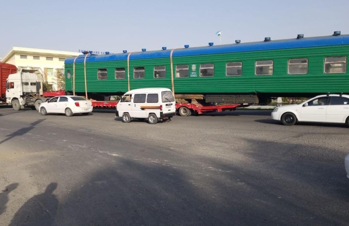 В Самаркандском УВД прояснили информацию о якобы сошедшем с рельс поезде
