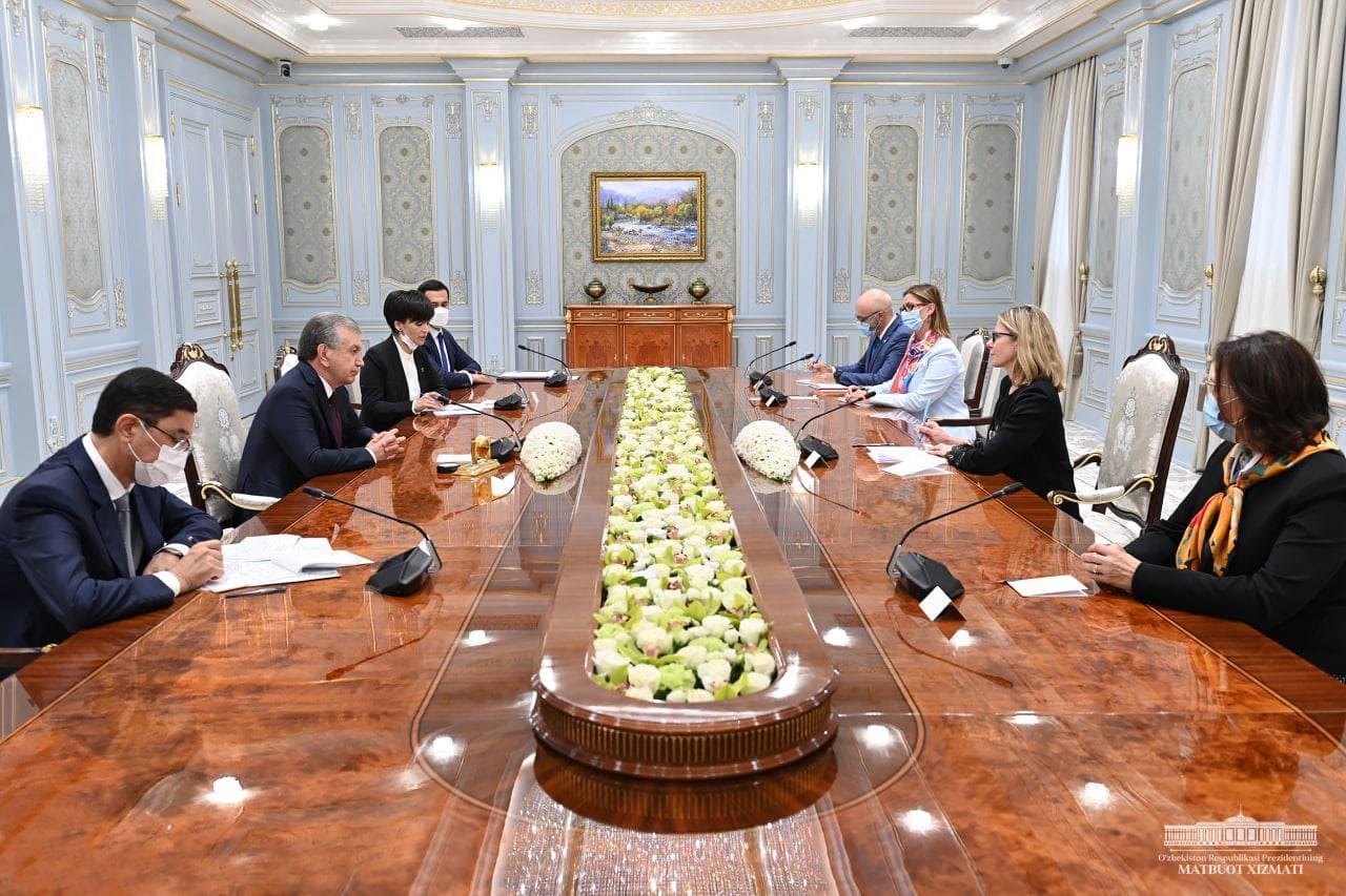 Президент принял делегацию Всемирного банка