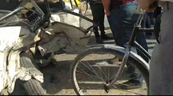 В Кашкадарьинской области в результате ДТП погиб молодой сотрудник ОВД — видео