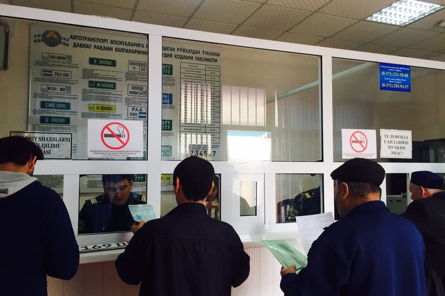 В Ташкенте экзаменационные отделы УБДД приостановят работу