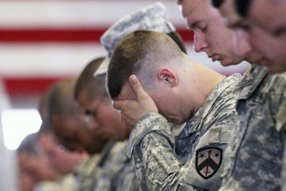 Пентагон зафиксировал рост числа самоубийств среди военнослужащих