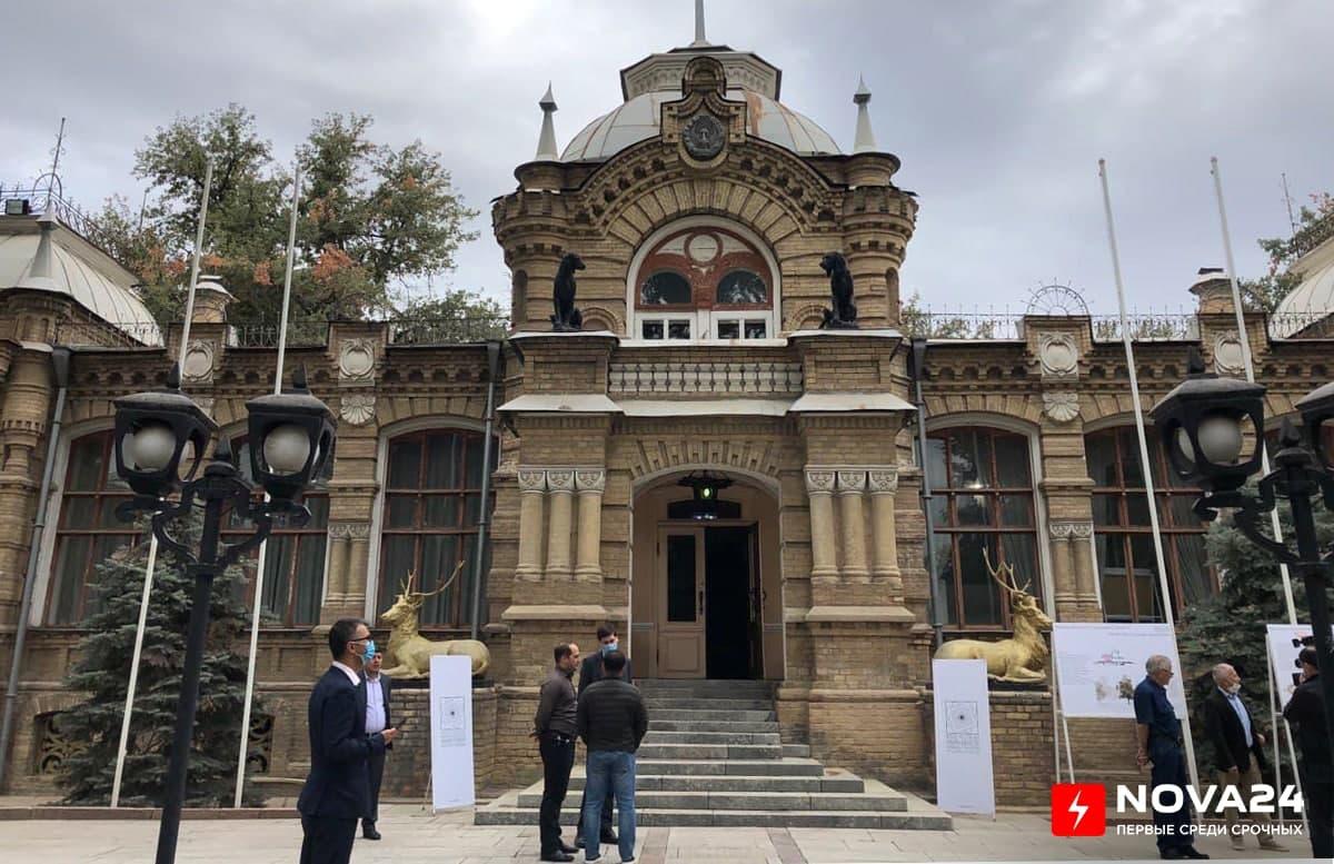 В Ташкенте реконструируют Дворец князя Романова