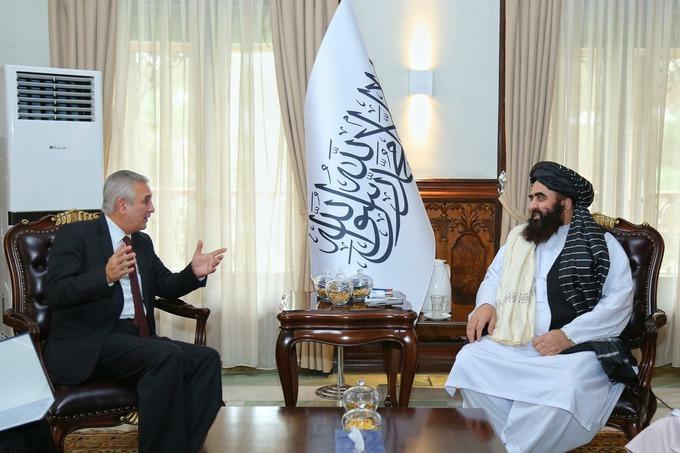 В Кабуле прошла встреча главы МИД Афганистана с послом Узбекистана