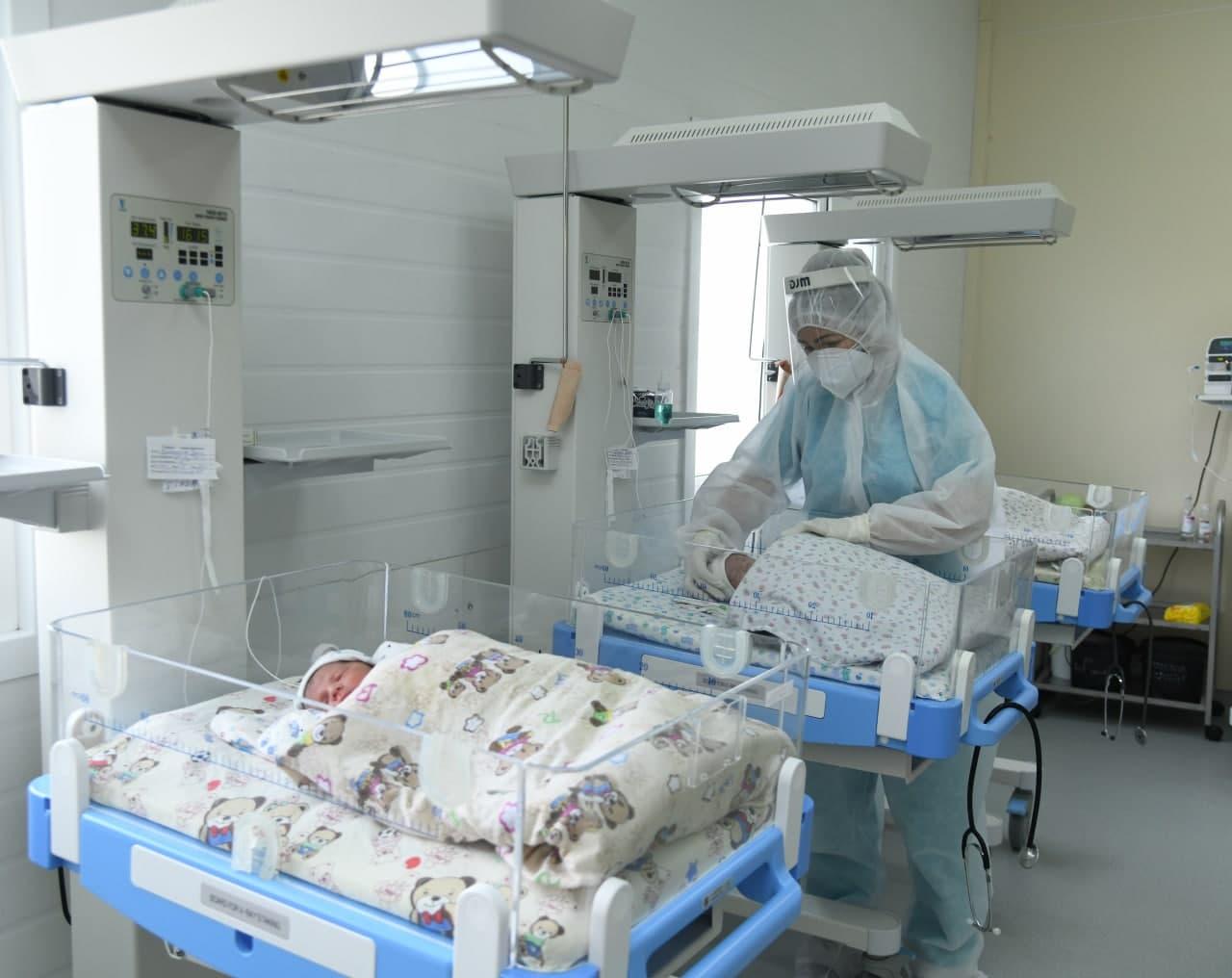 В Узбекистане с начала года родилось более 670 тысяч младенцев
