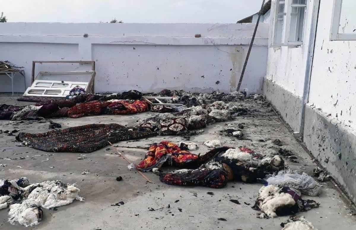 В одном из домов Самаркандской области произошел взрыв