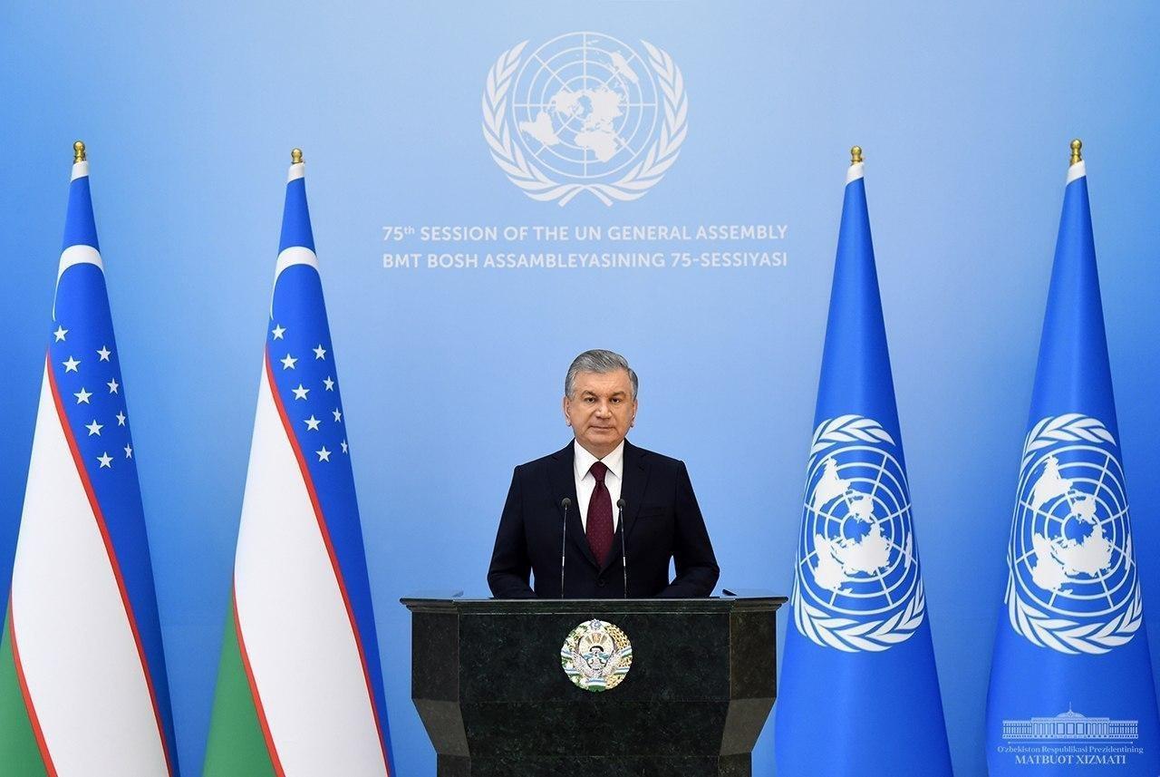 ООН приняла резолюцию по инициативе Шавката Мирзиеева