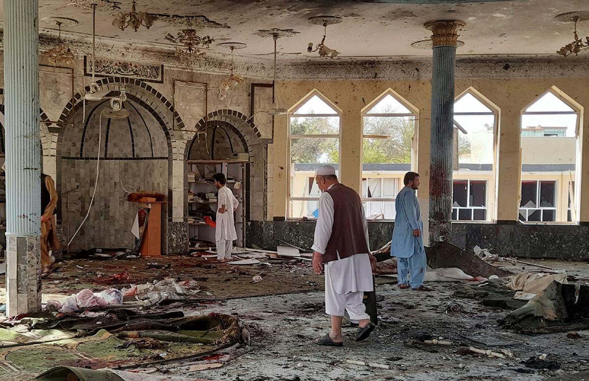 Выяснилось, сколько людей погибли в результате теракта в шиитской мечети Афганистана
