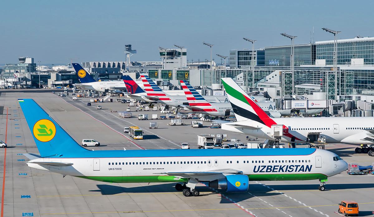 Uzbekistan Airways переходит на зимнее расписание